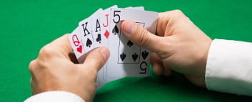 Typical Five Card Draw Pocket Hand