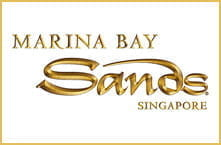 The Marina Bay Sands luxury hotel and casino in Singapore.