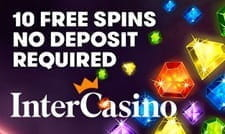 Free spins at registration with InterCasino