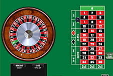 20p Roulette in-game play