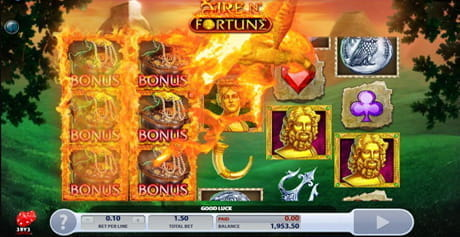 The Fire N' Fortune slot from 2 by 2 Gaming.