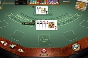 Numerous Blackjack Games on 32Red Mobile