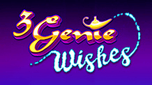 Promotional image of 3 genie wishes from Pragmatic Games