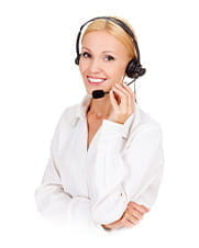 A customer services operative at a 4ThePlayer online casino.