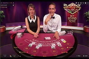 An image of Blackjack Party at 777 Casino