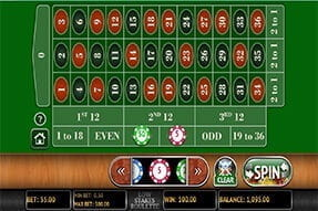 777 Casino Low Stakes Roulette on mobile app