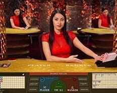 Live baccarat at 777 Casino