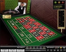 Live roulette at 777 Casino