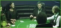 An image showing gamblers in a casino.