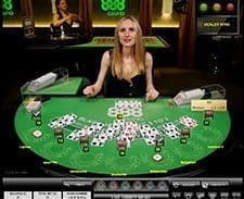 Live Blackjack at 888casino