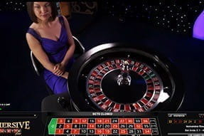 Play Live Immersive Roulette at 888casino