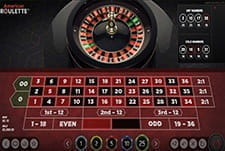 American Roulette by NetEnt in-game play view