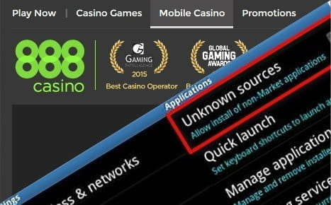 Native Android Casino Apps can Only be Downloaded from the Casino Website