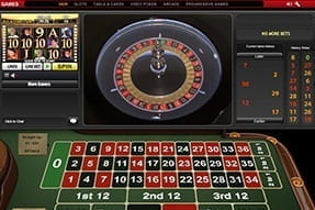 Athena Slingshot Live Roulette in action at Ladbrokes casino