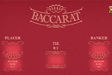 Play Baccarat at Rise Casino