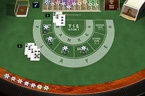 The baccarat game from Playtech