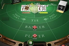 Baccarat Professional Series from NetEnt.