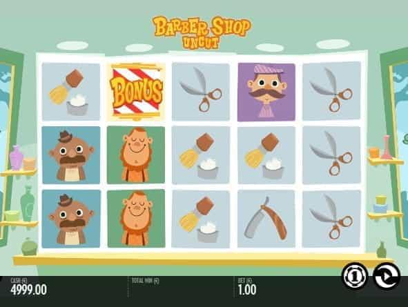 Image of the Barber Shop Uncut demo slot game
