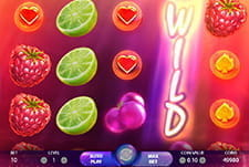 The slot game Berry Burst at Fansbet casino.