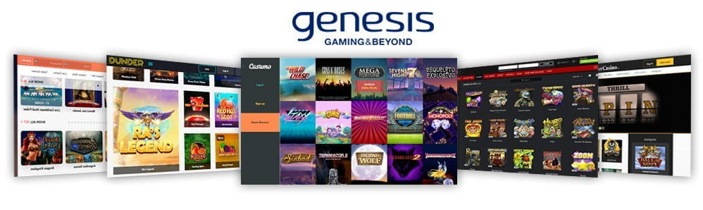 Image showcasing the top 5 Genesis Gaming casinos