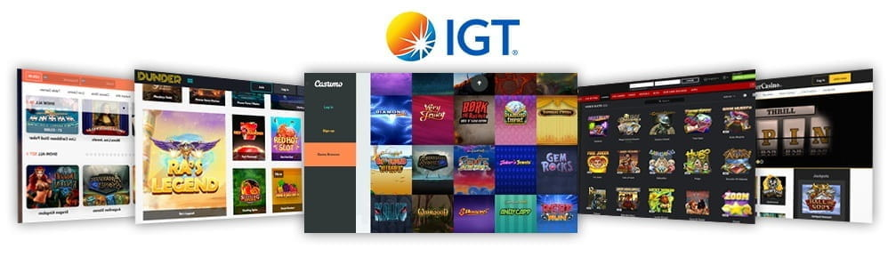 Image showcasing the top 5 IGT casinos