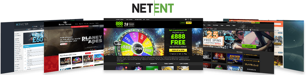Image showcasing the top 5 NetEnt casinos