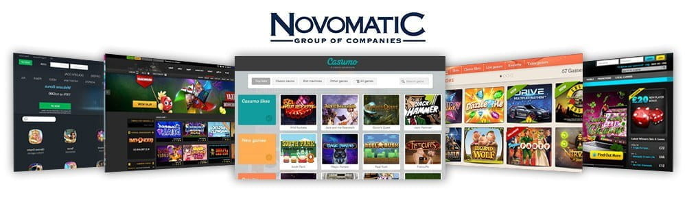 Image showcasing the top 5 novomatic casinos