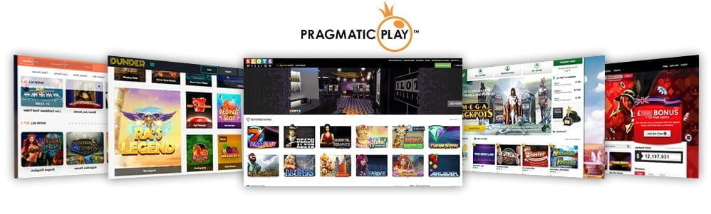 Image showcasing the top 5 Pragmatic Play casinos
