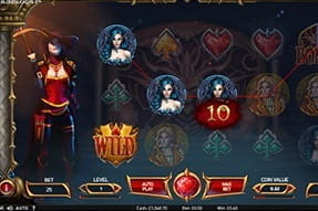 In-game image of Bloodsuckers 2 slot game.