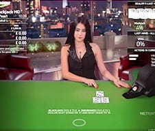 Image of a live dealer at bet-at-home casino.