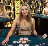 Eva, a live dealer at bet-at-home.