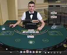 Preview of Live Casino Hold'em at Betfair casino