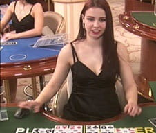 A Betfair casino live dealer game.