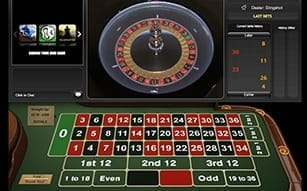 Slingshot live roulette at Betfair casino.