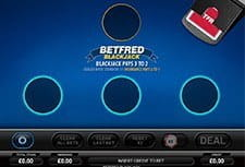 Play Betfred Blackjack at Betfred Casino