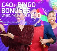 A promotional image for the Betfred bingo bonus.
