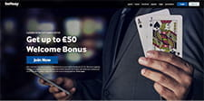 Get £250 on Your First Deposit at Betway Casino