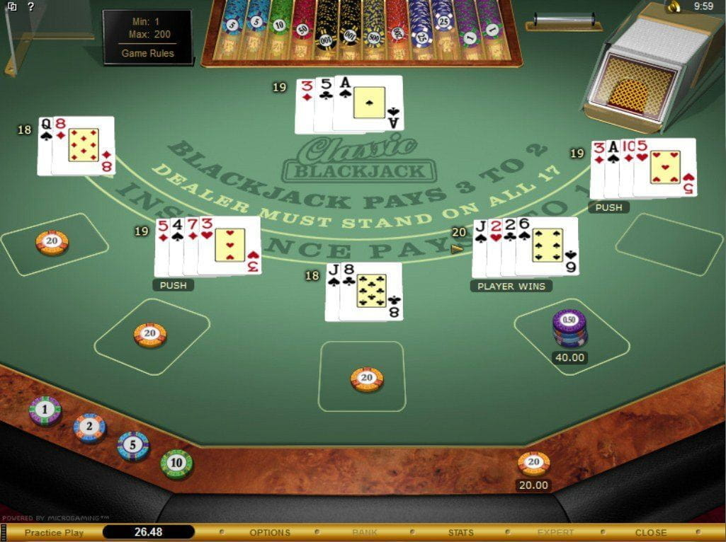 Blackjack wife