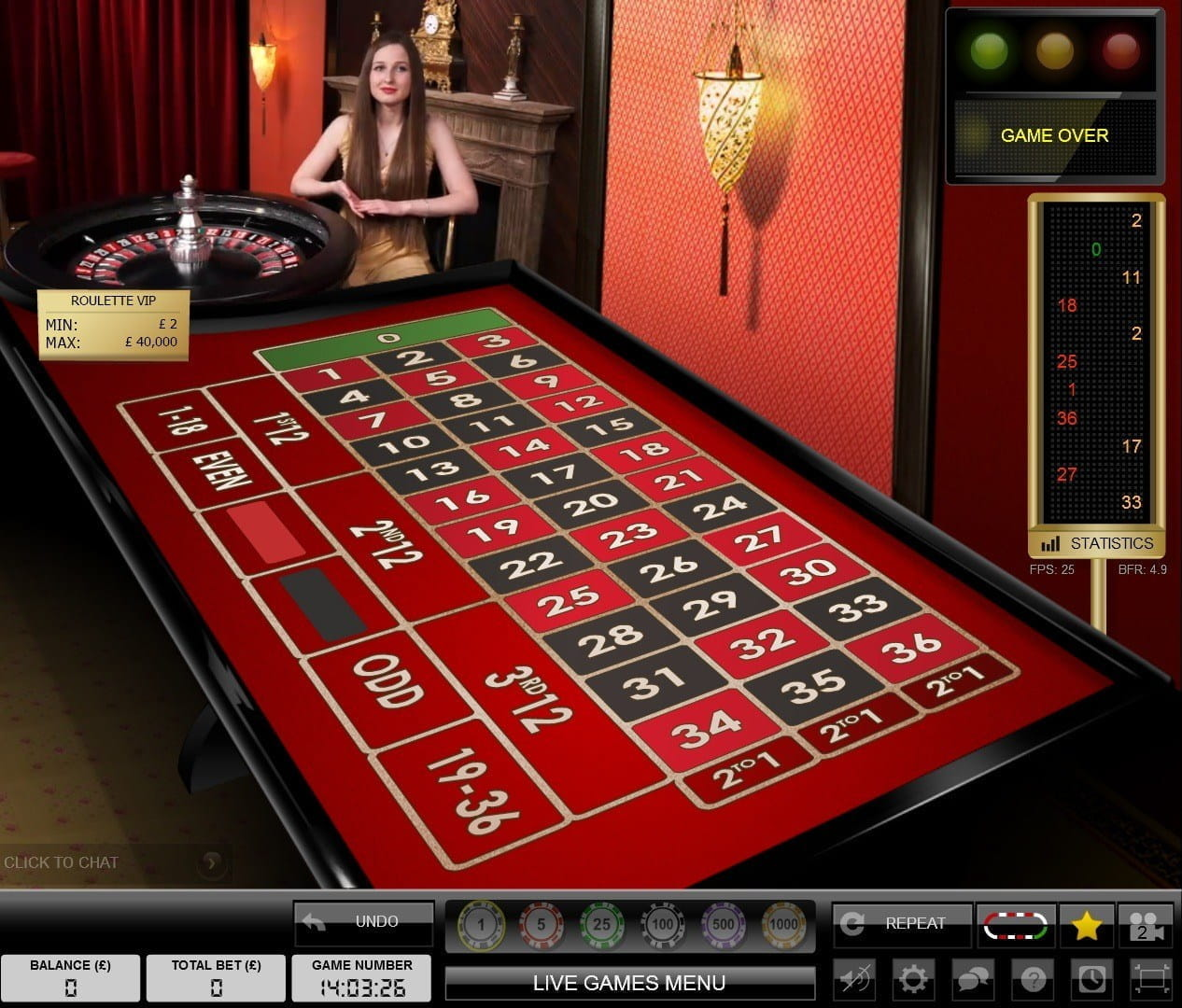 888 roulette live
