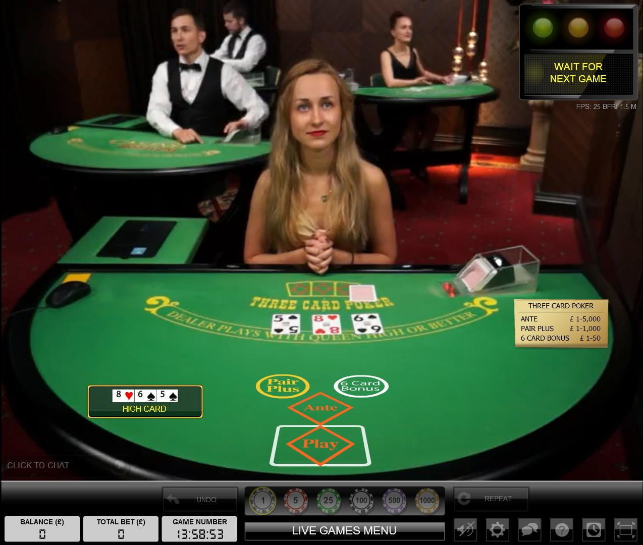 casino online poker sizziling hot