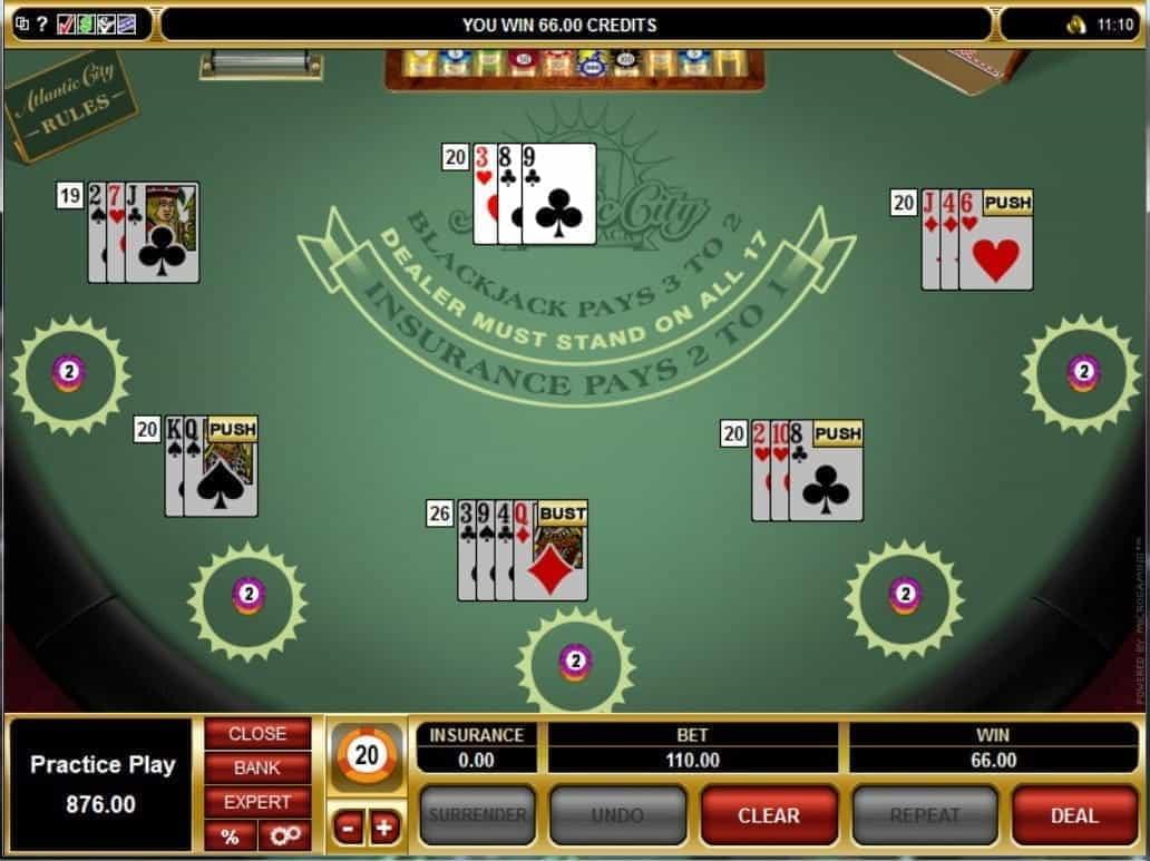 Online Blackjack Games Rigged