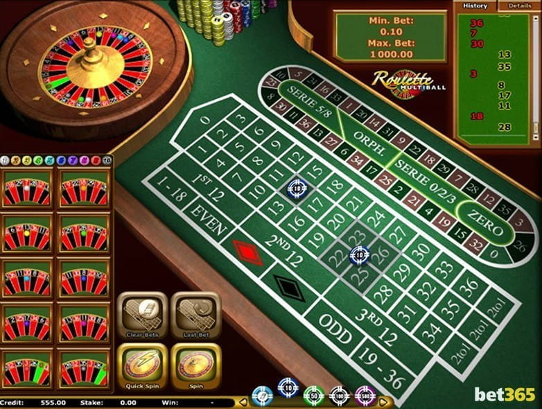 Best roulette casinos