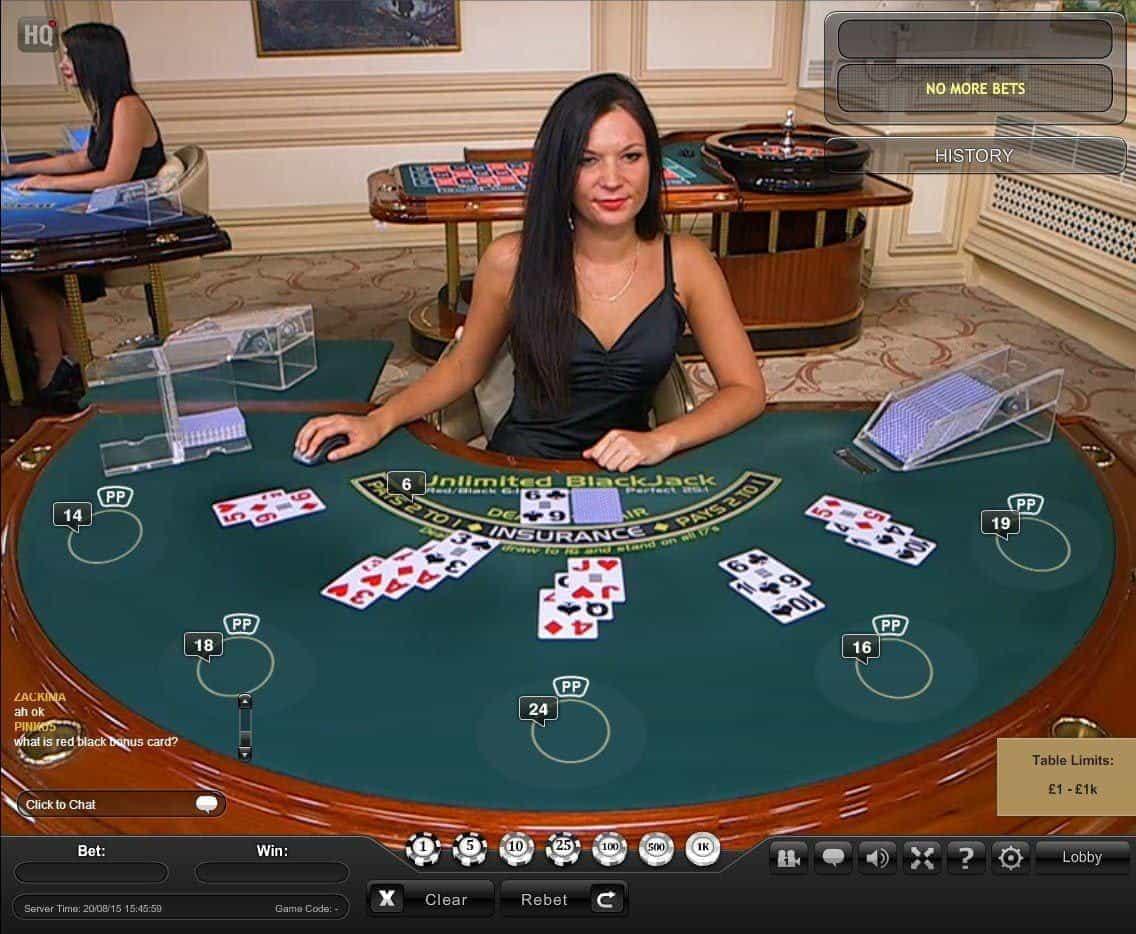 Live BlackJack on Online Casinos for US Players