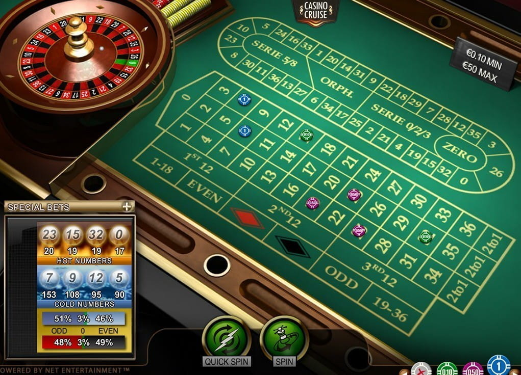 Roulette juego