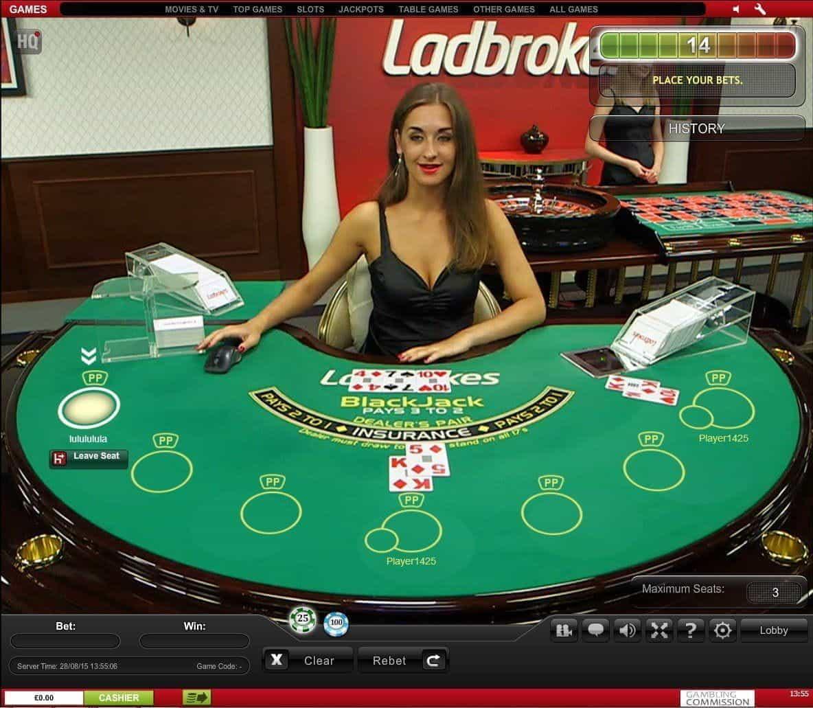 how to play dealer in blackjack