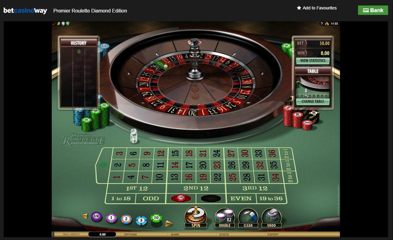 online casino roulette like a diamond