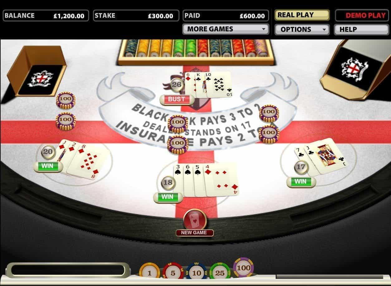 Spielen sie Blackjack PRO Online bei Casino.com Österreich