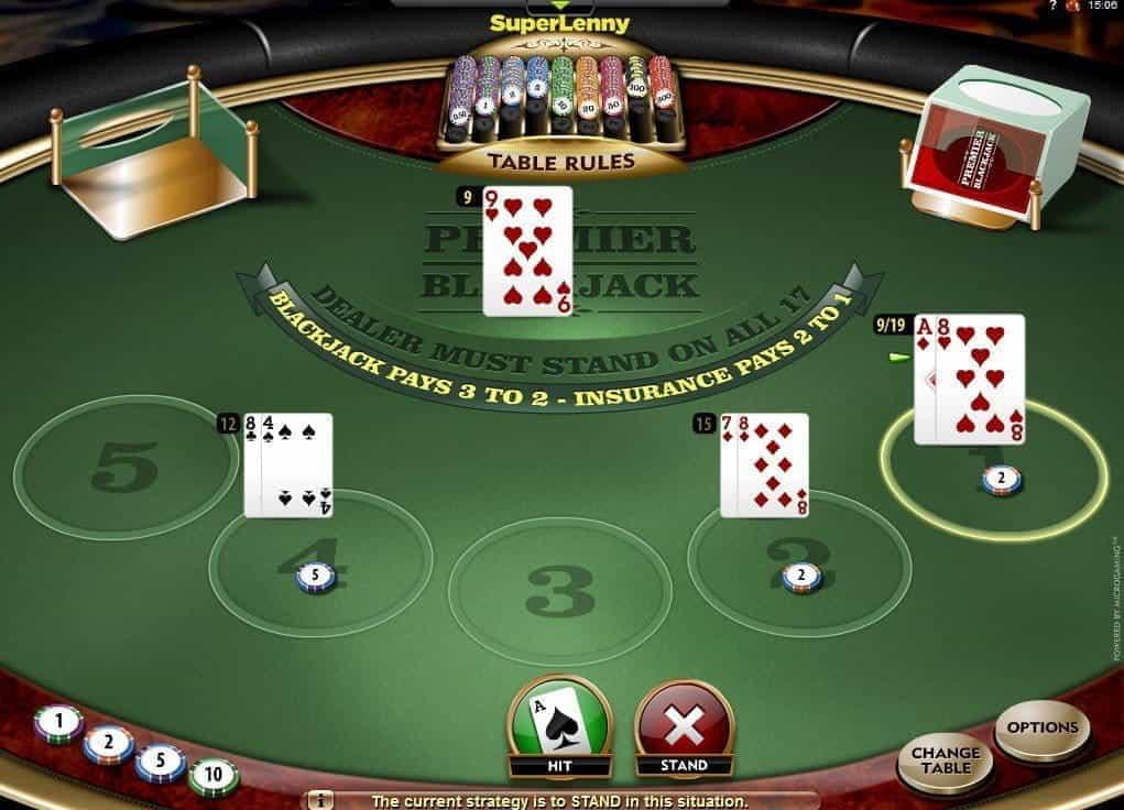 Star casino sydney blackjack rules