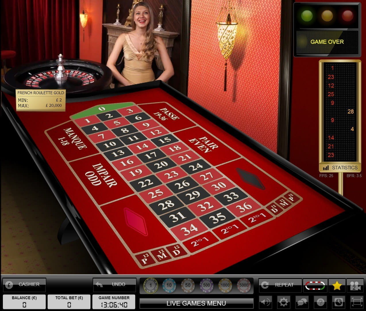Play Live Casino at William Hill With Exclusive Live Dealer Games