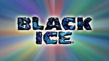 Realistic Games' Black Ice slot game logo